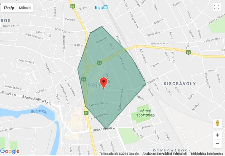 baja térkép utcák Választás 2018  Hol szavazzunk? Bajai szavazókörök utcajegyzékei  baja térkép utcák